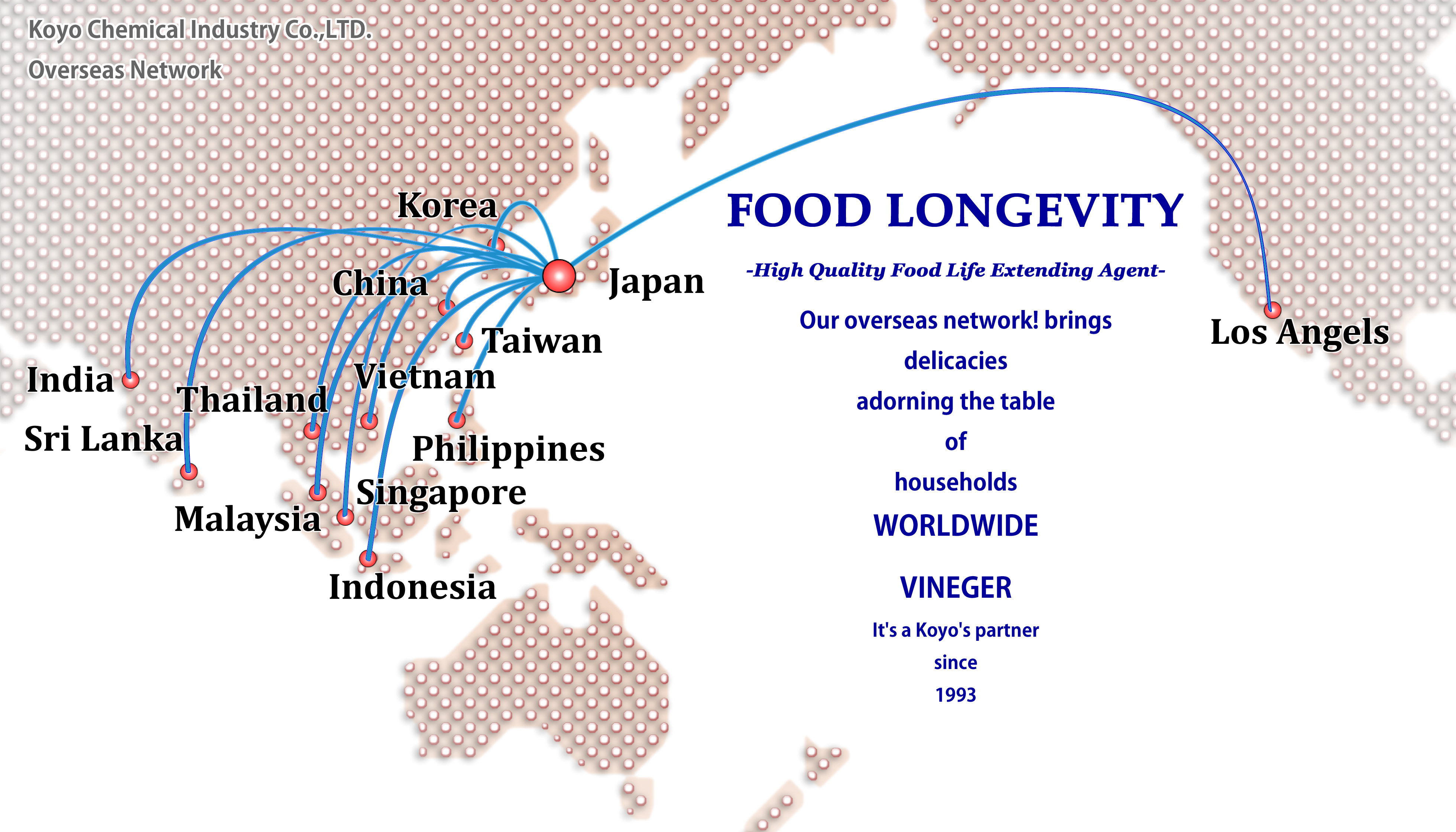 Food Preservatives・Quality Improving Agents/ Koyo Chemical Industry